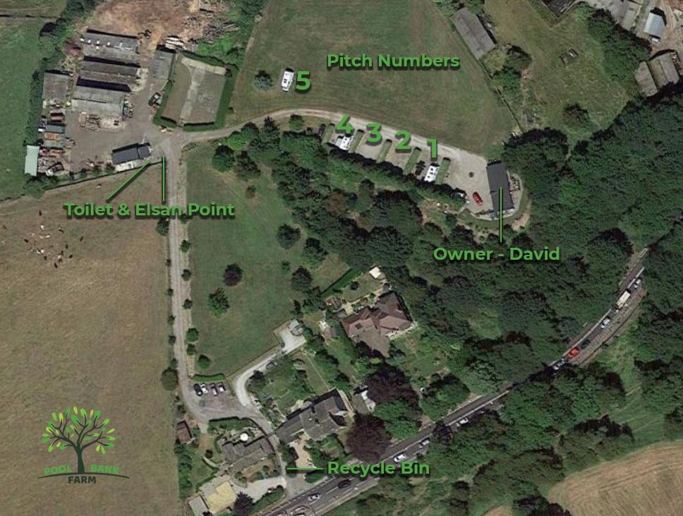 Pool Bank Farm Map